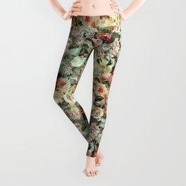Floral Pattern RPE121 Leggings