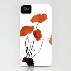 Poppy Slim Case iPhone (4, 4s)
