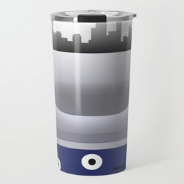 Newark - EWR - Airport Code and Skyline Travel Mug
