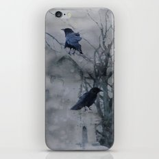 Crows In A Gothic Wash iPhone & iPod Skin