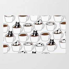 More Coffee French Bulldog Rug