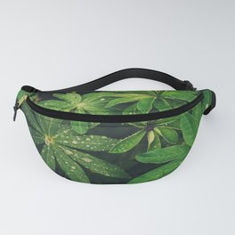 Plants and Leaves Fanny Pack