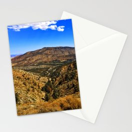 Desert Meets Mountain Stationery Cards