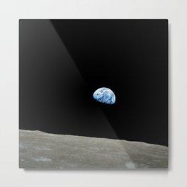 """Earthrise"" Metal Print"