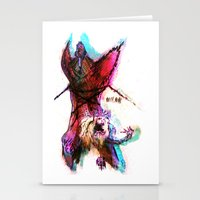 pain Stationery Cards featuring [PAIN] by Rideth_Mochi