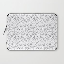 Dinosaurs Outline Pattern Laptop Sleeve