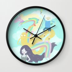 Time for an Adventure Wall Clock
