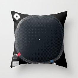 8 Bit Technics SL-1210MK5 Throw Pillow