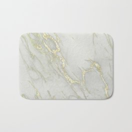Marble Love Gold Metallic Bath Mat
