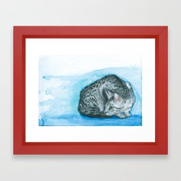 Egyptian Mau Framed Art Print