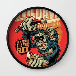 Evil Dave Wall Clock