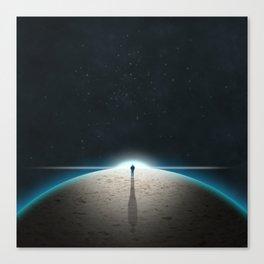 The Sandplanet Canvas Print