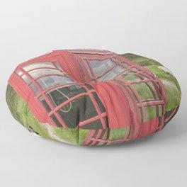 Phone box on the Isle of Skye Floor Pillow
