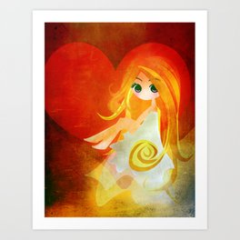 Room in your Heart Art Print
