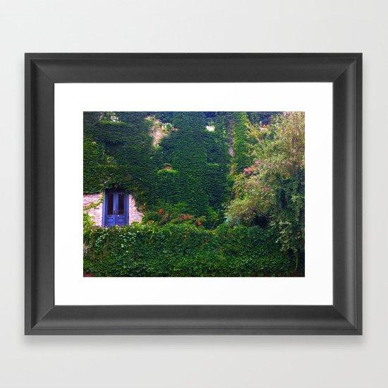 NYC Garden Framed Art Print
