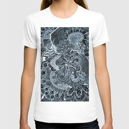 Black and White Tangled T-shirt