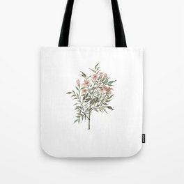 Small Floral Branch Tote Bag