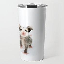 Baby Opossum Smile Travel Mug