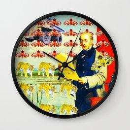 ACCORDING TO PLAN. Wall Clock