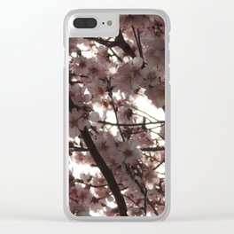 Almond Blossom II Clear iPhone Case