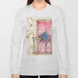 Balcony in France Long Sleeve T-shirt