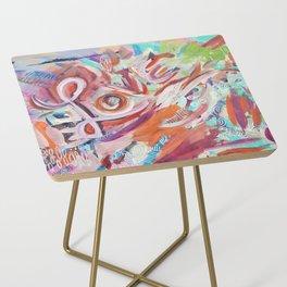 Love Grafitti Side Table