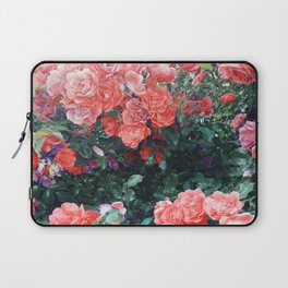 Psychedelic summer florals Laptop Sleeve