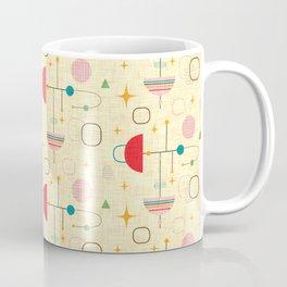 Atomic pattern umbrellas   #midcenturymodern Coffee Mug