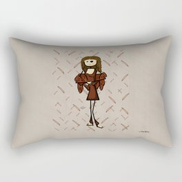 The real Gioconda Rectangular Pillow