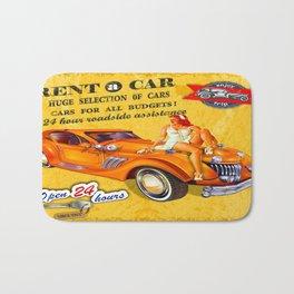 CAR RENTAL Bath Mat