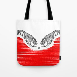 Duality - Love Tote Bag