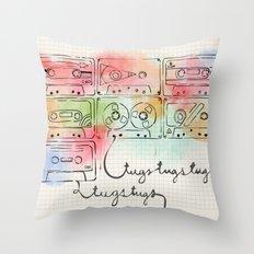 tugstugs mixtapes Throw Pillow