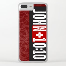 JohN+10:10 Clear iPhone Case
