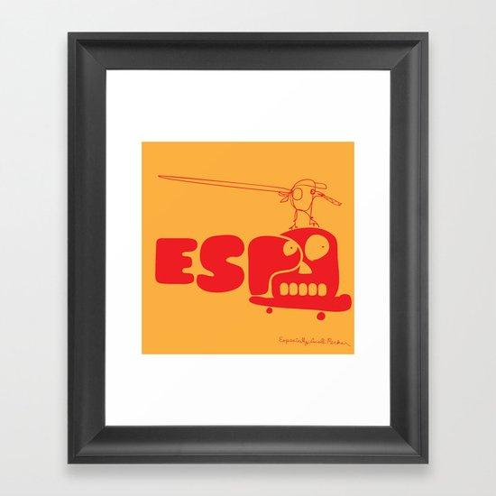 ESP Framed Art Print