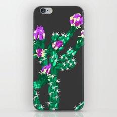 Flowering Cactus iPhone & iPod Skin