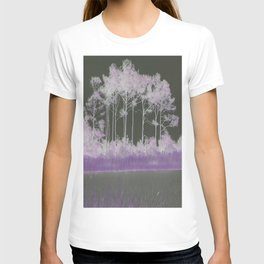Tranquility in Shades of Lavender T-shirt