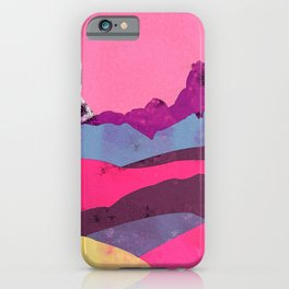 Candy Mountain iPhone Case