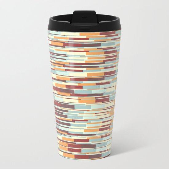 Abstract pattern 67 Metal Travel Mug