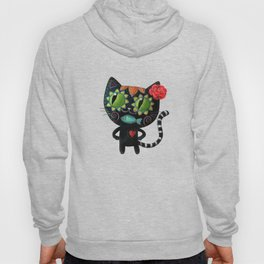 Black cat of the dead Hoody