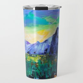 Yosemite Valley - Tunnel View Travel Mug
