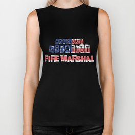 America's Greatest Fire Marshal Biker Tank