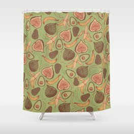 Fig Shower Curtain