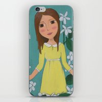 jasmine iPhone & iPod Skins featuring Jasmine by Jarillo ArtCraft