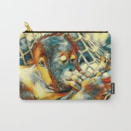 AnimalArt_OrangUtan_20170904_by_JAMColorsSpecial Carry-All Pouch