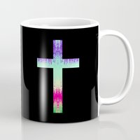 cross Mugs featuring Cross by M Studio