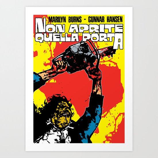 August 18, 1973: Bloody Texas #1 Art Print