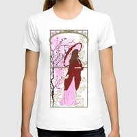 cherry blossoms T-shirts featuring Cherry Blossoms by Nana Leonti