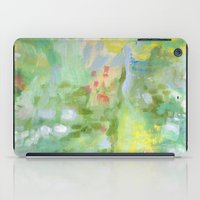 amelie iPad Cases featuring Amelie Abstraction by Annie Flynn