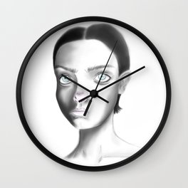 Dust Wall Clock