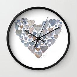 Heart of hearts Wall Clock